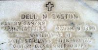 Dell N. Easton 1916-1990
