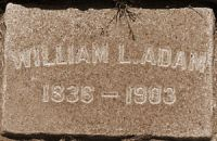 William Laird Adam 1836-1903