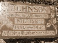 William Teasdale Johnson 1880-1964