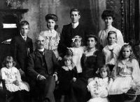 Edmund Baxter Aimer and Family
